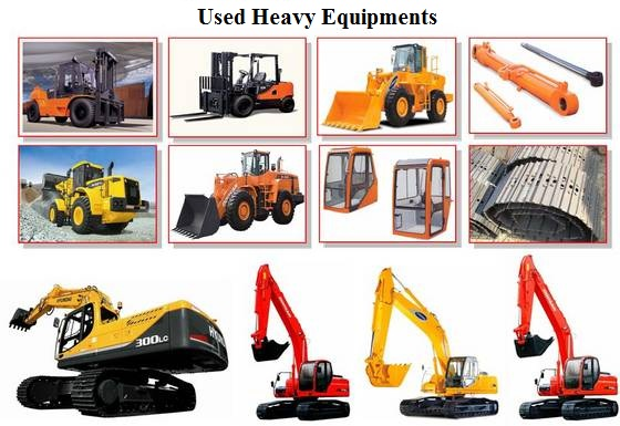 Used Heavy Equipment | Heavy Equipments