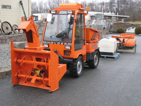2003 tractor snow blower holder c2 421 multipark heavy equipments